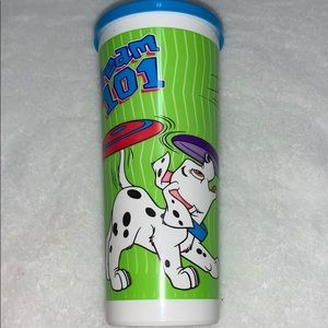 Tupperware Disney Dalmatian Cup with cover